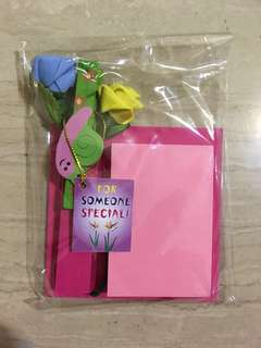 Post It Note Pad with Magnet