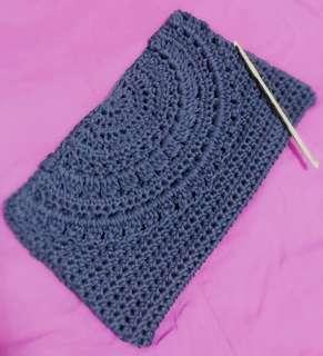 Handmade Crochet Clutch Bag