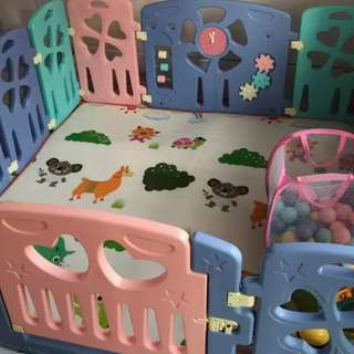 Playard playground playpen keep babies safe