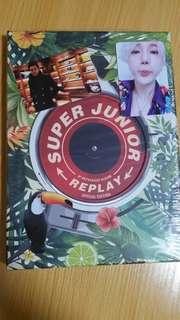 Super Junior Replay (特別版)(利特/希澈/藝聲/始源小卡)