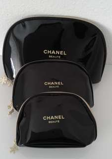 Chanel Make-Up Bag Christmast VIP gift (Price is for the 3size)