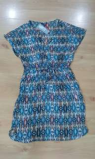 Limited chiffon dress with inner garment (12)
