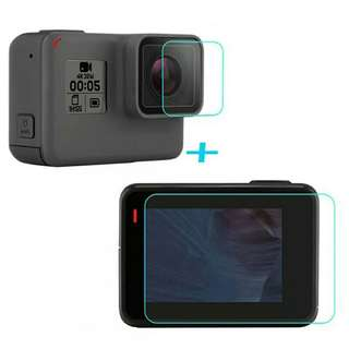 Gopro5 Tempered Glass - Free Posting