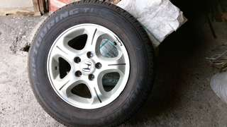 DUNLOP sp touring t1 215/65/R15(二手)