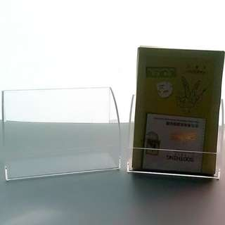 Acrylic Transparent Organizer Cosmetic Storage Box Shelf Display