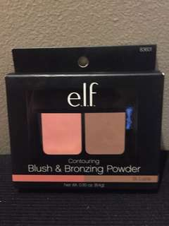 Elf Blush and Bronzing Powder