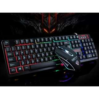 🚚 BN Gaming Keyboard Mouse set Instock