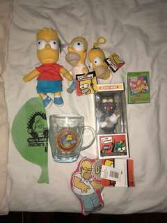 THE SIMPSONS COLLECTABLES BUNDLE