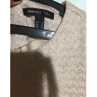 Mango Suit classy formal blouse top