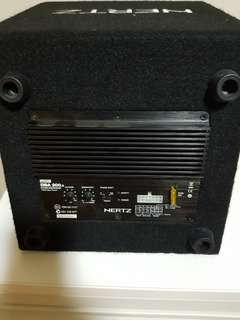 (Priced to sell) Hertz DBA 200.3 Active Subwoofer