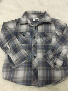 Old Navy plaid 3T