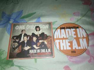 One Direction Made In The AM album (Deluxe)