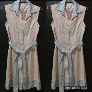 Women's Contrast Collar Dress (Size S)
