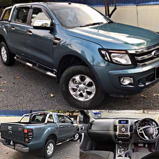 SAMBUNG BAYAR / CONTINUE LOAN  FORD RANGER 2.2 (AUTO) XLT FULL SPEC