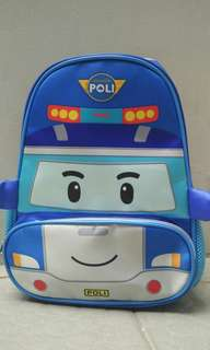 Kids school bag Robocar (Poli)