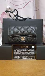 Chanel name card holder