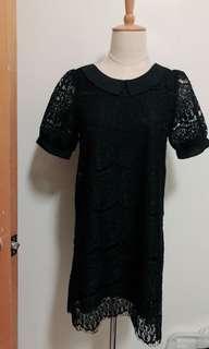 韓版蕾絲洋裝