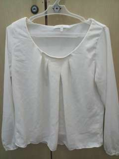 Off white blouse (great for work/formal)