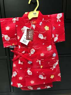 Toddler girl Japanese costume