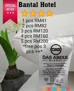 Bantal Hotel Das Abdul FREE gift FREE COD