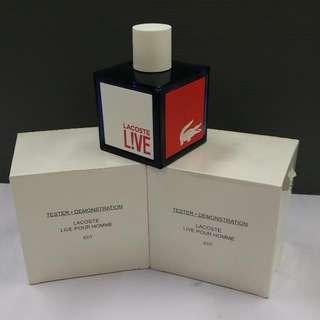 Lacoste L!VE For Men (100ml Tester/Demo Bottle)