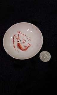 早期小瓷盤