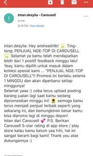 Thankyou Carousell 😂