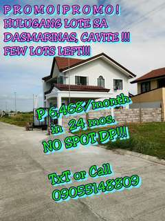 LOT ONLY FOR SALE IN DASMARINAS CAVITE