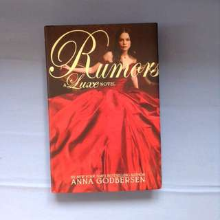 Rumors (hard cover)