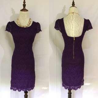 Violet Dress 👗