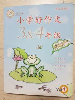 Guidebook primary 3 and 4 chinese composition and oral practice