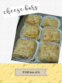 Cheese bars