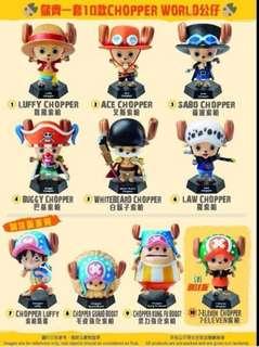 7-11 海賊王公仔 一套10隻