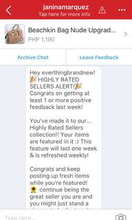 Highly Rated Seller! Thank you Carousell!