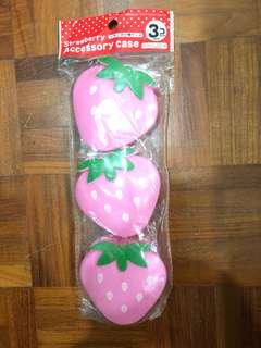Strawberry Accessory Case