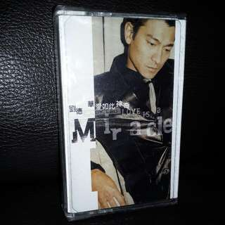 cassette tape andy Lau new