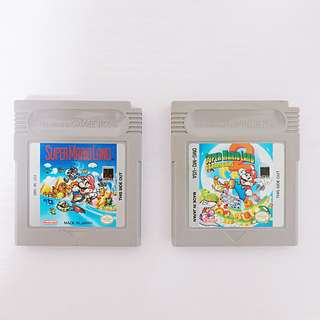 Super Mario Land 1 and 2 Golden Coins