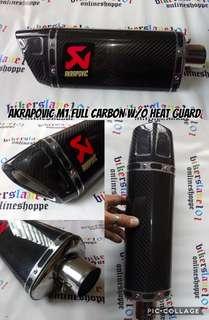 Akrapovic M1 Carbon