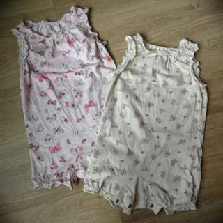 Mothercare Baby Girl Casual Rompers