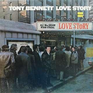 tony bennett Vinyl LP, used, 12-inch original pressing