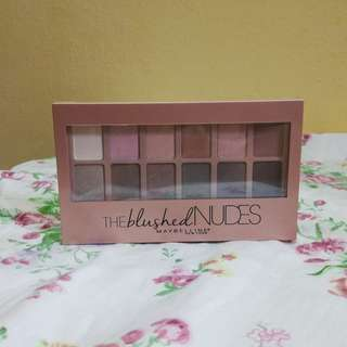 Maybelline Palletes Nudes Eye Shadow