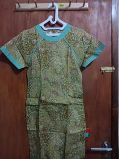 Baju batik preloved