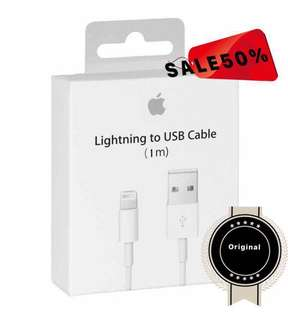 100% Authentic Apple Lightning Cable