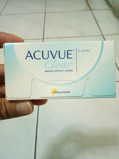 Acuvue clear softlens