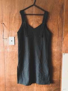 Korean Inspired Black Dress