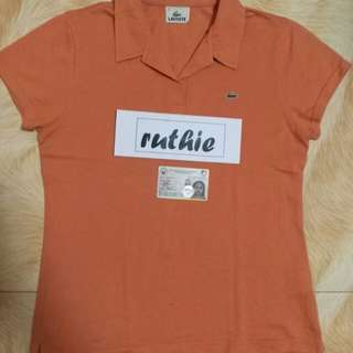 Lacoste authentic polo shirt for her