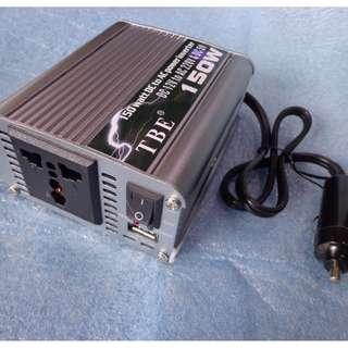 CAR POWER INVERTER 12V TO 220VAC 150W