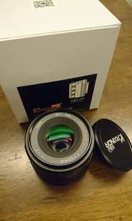 Nice cheap manual 35mm F1.7 lens