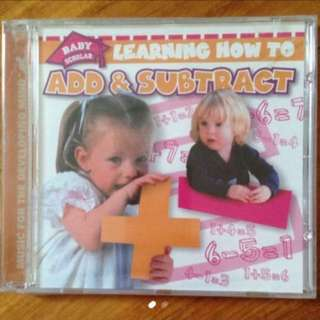 Learning How To Add & Subtract ( Children CD )