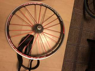 Fulcrum Racing Zero Tubeless Wheelset + tyres